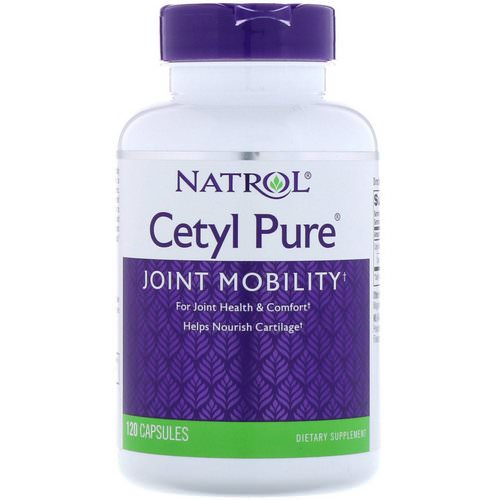 Natrol, Cetyl Pure, 120 Capsules Review