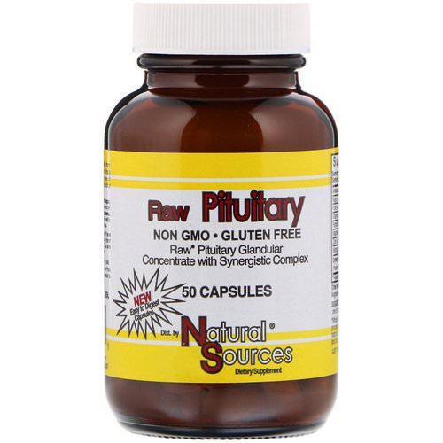 Natural Sources, Raw Pituitary, 50 Capsules Review