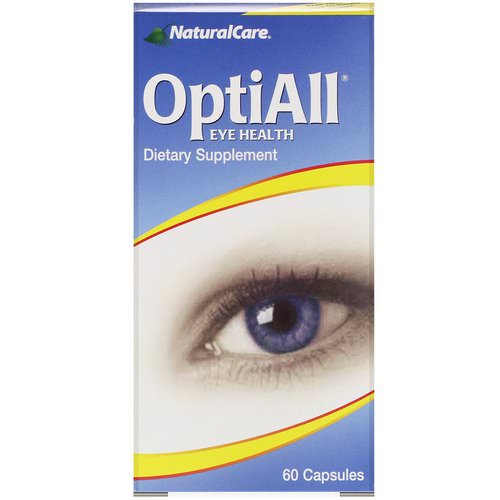 NaturalCare, OptiAll Eye Health, 60 Capsules Review