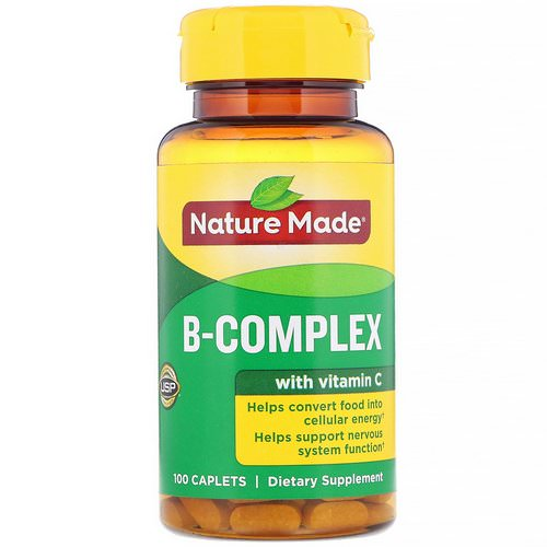 Nature Made, B-Complex with Vitamin C, 100 Caplets Review
