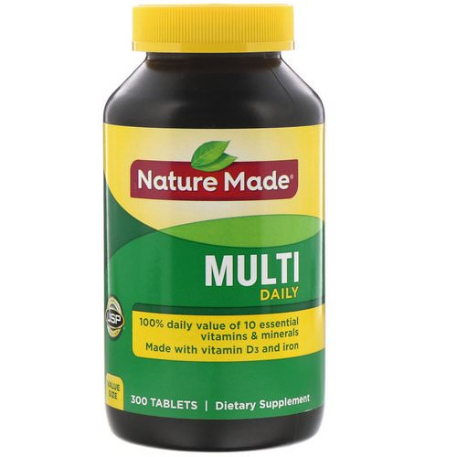 Nature Made, Multi, Daily, 300 Tablets Review