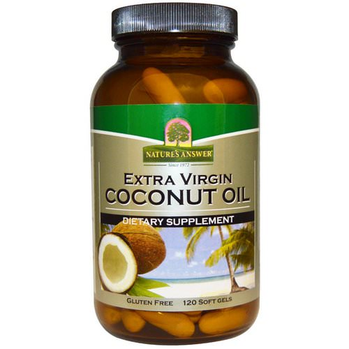 Nature's Answer, Extra Virgin Coconut Oil, 120 Softgels Review