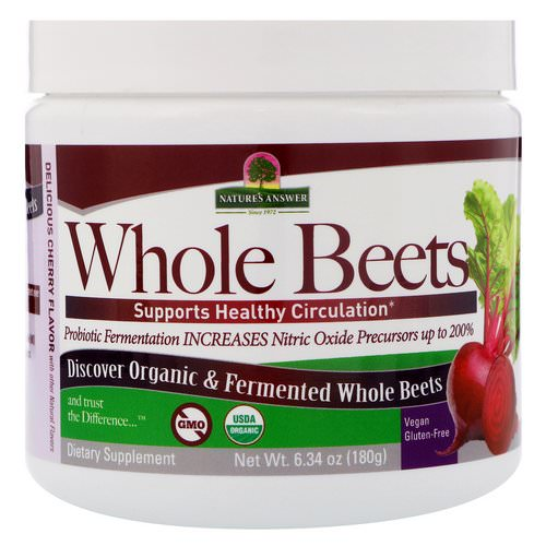 Nature's Answer, Whole Beets Powder, 6.34 oz (180 g) Review