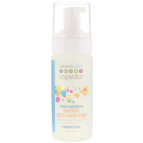 Nature's Baby Organics, Mild & Sensitive, Foaming Hand & Face Wash, Fragrance Free, 4 oz (113.4 g) Review