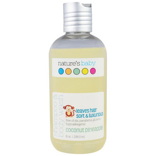 Nature's Baby Organics, Shampoo & Body Wash, Coconut Pineapple, 8 oz (236.5 ml) Review