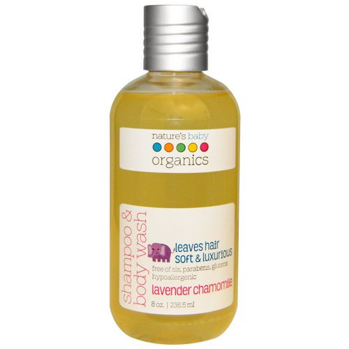 Nature's Baby Organics, Shampoo & Body Wash, Lavender Chamomile, 8 oz (236.5 ml) Review