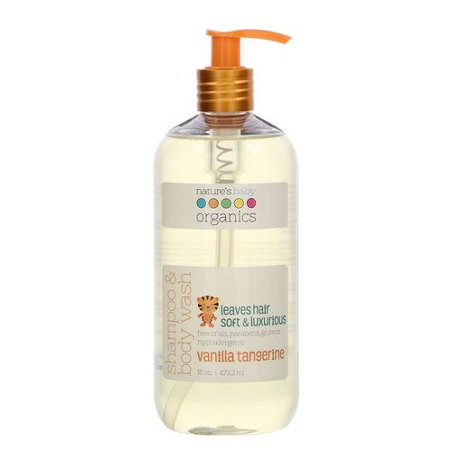 Nature's Baby Organics, Shampoo & Body Wash, Vanilla Tangerine, 16 oz (473.2 ml) Review