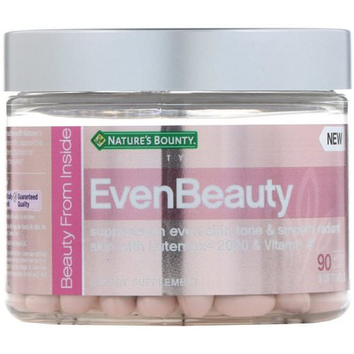 Nature's Bounty, EvenBeauty, 90 Softgels Review