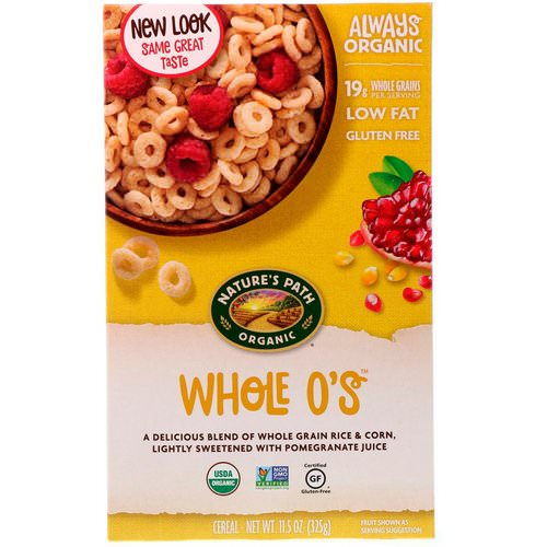 Nature's Path, Whole O's Cereal, 11.5 oz (325 g) Review