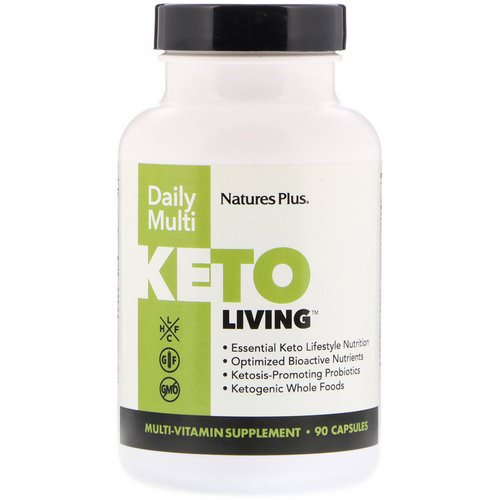 Nature's Plus, KetoLiving, Daily Multi, 90 Capsules Review