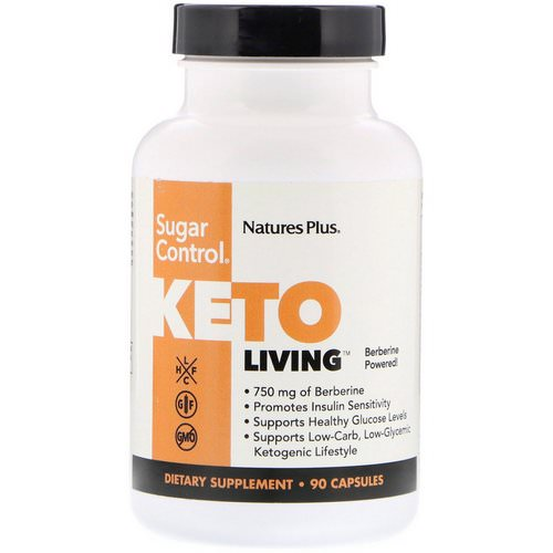 Nature's Plus, KetoLiving, Sugar Control, 90 Capsules Review