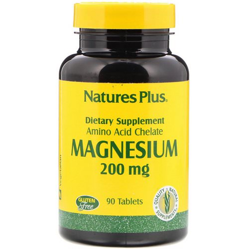 Nature's Plus, Magnesium, 200 mg, 90 Tablets Review