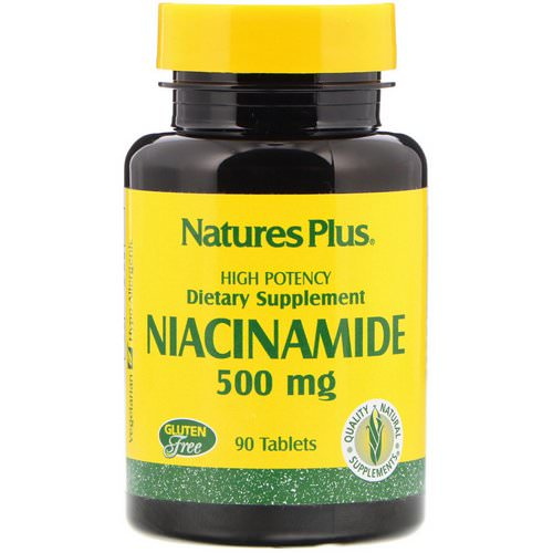 Nature's Plus, Niacinamide, 500 mg, 90 Tablets Review