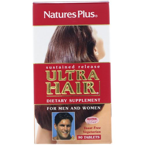 Nature's Plus, Ultra Hair, For Men and Women, 90 Tablets Review