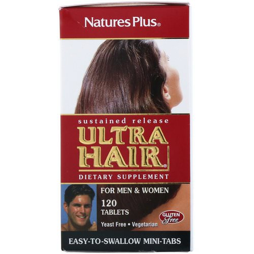 Nature's Plus, Ultra Hair, For Men & Women, 120 Tablets Review