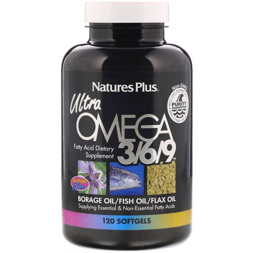 Nature's Plus, Ultra Omega 3/6/9, 120 Softgels Review