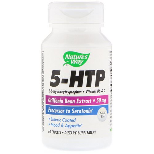 Nature's Way, 5-HTP, 60 Tablets Review