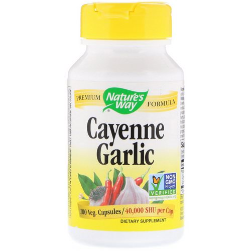 Nature's Way, Cayenne Garlic, 10 Veg. Capsules Review