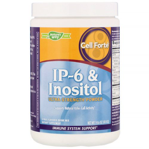 Nature's Way, Cell Forte, IP-6 & Inositol, Ultra Strength Powder, Citrus Flavored, 14.6 oz (414 g) Review