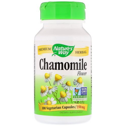 Nature's Way, Chamomile Flower, 350 mg, 100 Vegetarian Capsules Review
