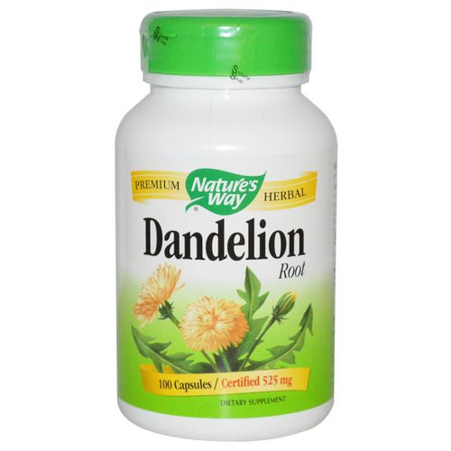 Nature's Way, Dandelion Root, 525 mg, 100 Vegetarian Capsules Review
