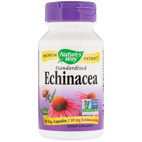 Nature's Way, Echinacea, Standardized, 60 Veg. Capsules Review