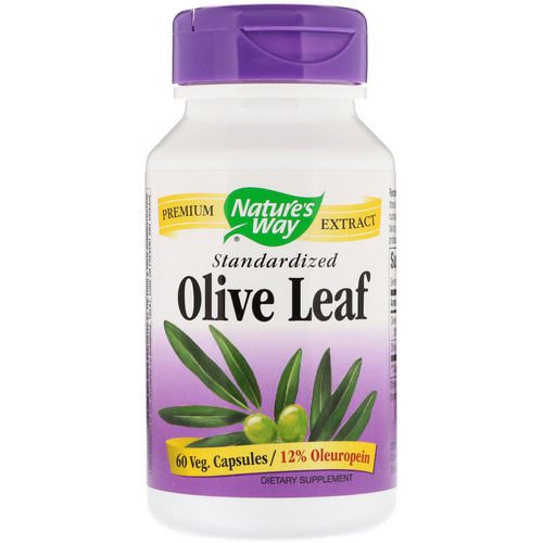 Nature's Way, Olive Leaf, Standardized, 60 Veg. Capsules Review