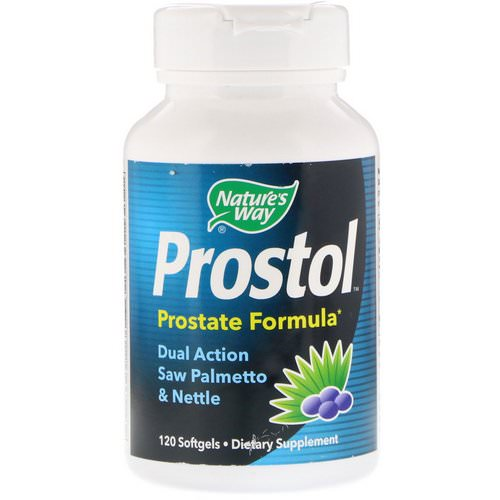 Nature's Way, Prostol, Prostate Formula, 120 Softgels Review