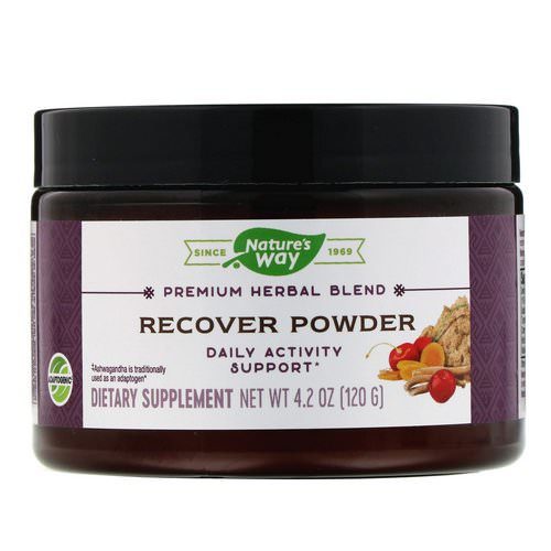 Nature's Way, Recover Powder, Daily Activity Support, 4.2 oz (120 g) Review