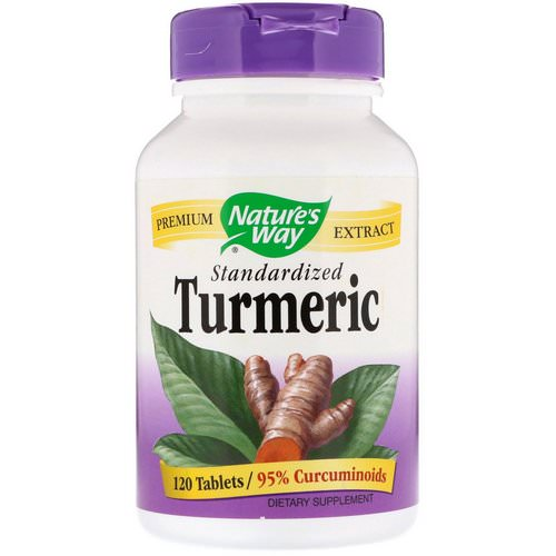 Nature's Way, Turmeric, Standardized, 120 Tablets Review