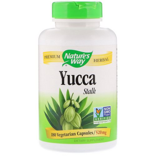 Nature's Way, Yucca Stalk, 520 mg, 180 Vegetarian Capsules Review