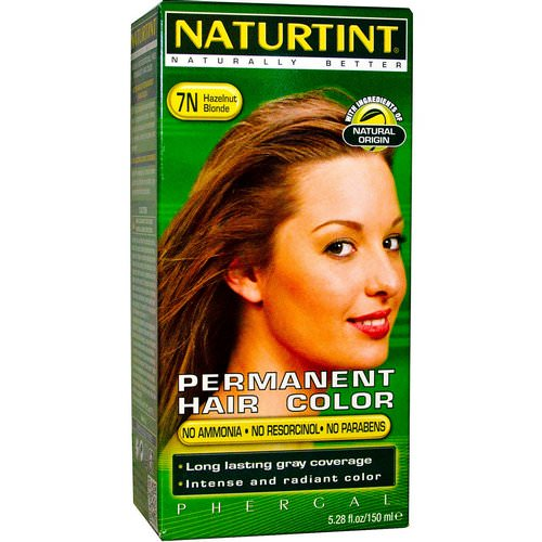 Naturtint, Permanent Hair Color, 7N Hazelnut Blonde, 5.28 fl oz (150 ml) Review