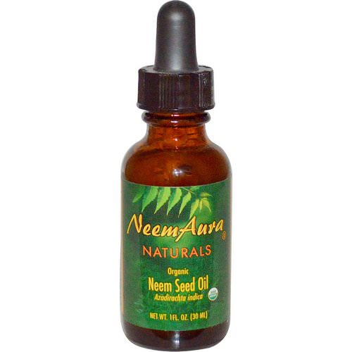 NeemAura, Organic, Neem Seed Oil, 1 fl oz (30 ml) Review