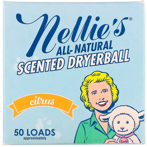 Nellie's, Scented Dryerball, Citrus, 1 Dryerball Review