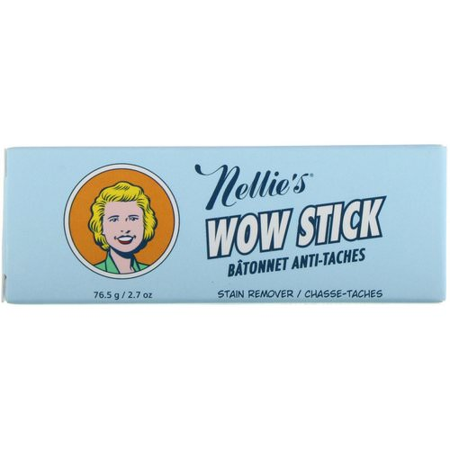 Nellie's, Wow Stick, Stain Remover, 2.7 oz (76.5 g) Review