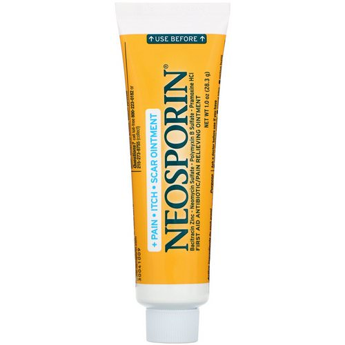 Neosporin, Multi-Action, Pain - Itch- Scar Ointment, 1.0 oz (28.3 g) Review