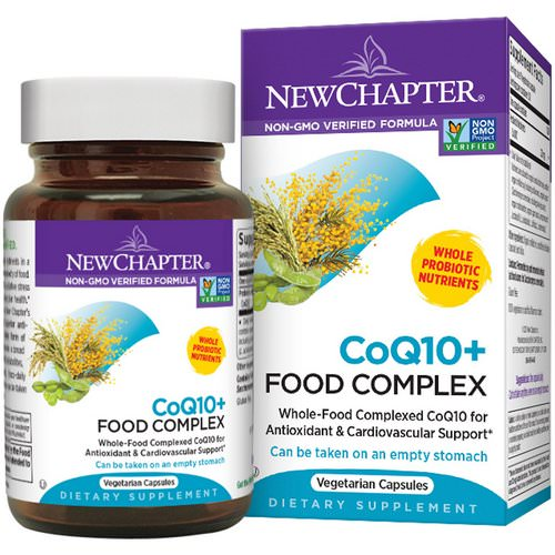 New Chapter, CoQ10 + Food Complex, 60 Veggie Caps Review