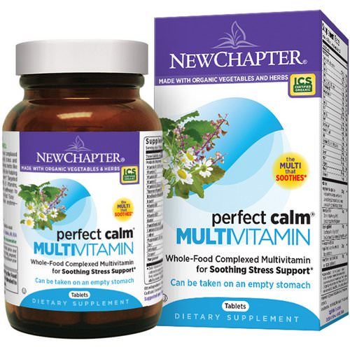 New Chapter, Perfect Calm Multivitamin, 144 Tablets Review