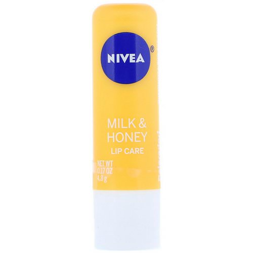 Nivea, Lip Care, Milk & Honey, 0.17 oz (4.8 g) Review