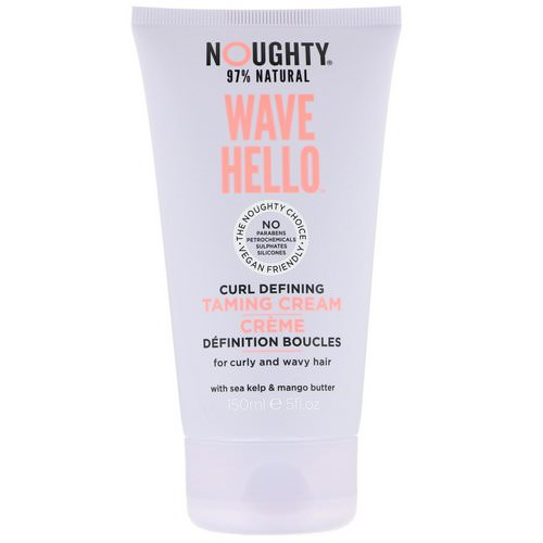 Noughty, Wave Hello, Curl Defining Taming Cream, 5 fl oz (150 ml) Review