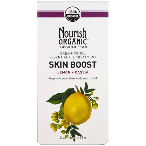 Nourish Organic, Skin Boost, Lemon + Cassia, 2 oz (56 g) Review