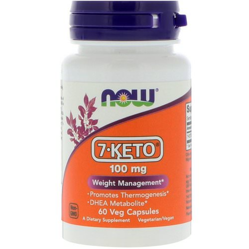 Now Foods, 7-KETO, 100 mg, 60 Veg Capsules Review