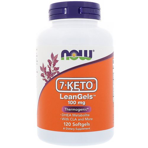 Now Foods, 7-Keto LeanGels, 100 mg, 120 Softgels Review