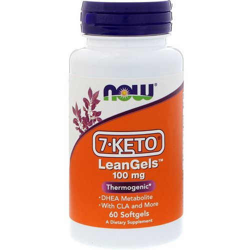 Now Foods, 7-Keto, LeanGels, 100 mg, 60 Softgels Review