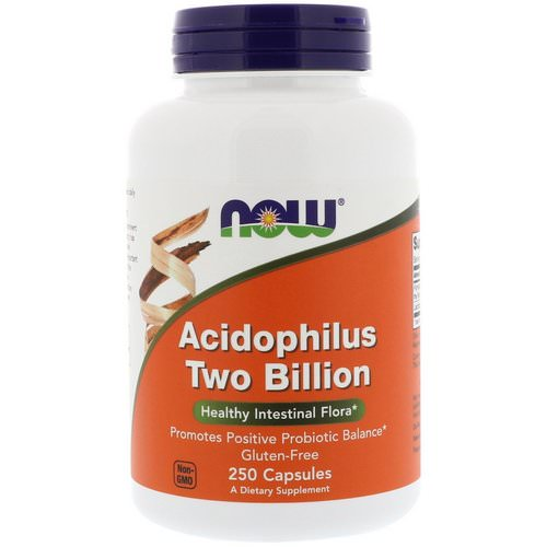Now Foods, Acidophilus Two Billion, 250 Capsules Review