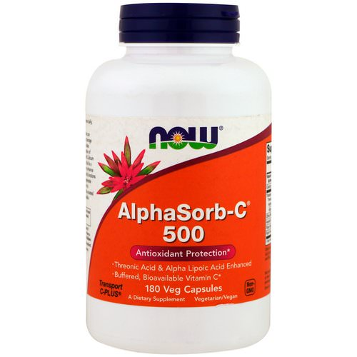 Now Foods, AlphaSorb-C 500, 180 Veggie Caps Review