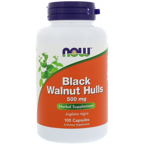 Now Foods, Black Walnut Hulls, 500 mg, 100 Capsules Review