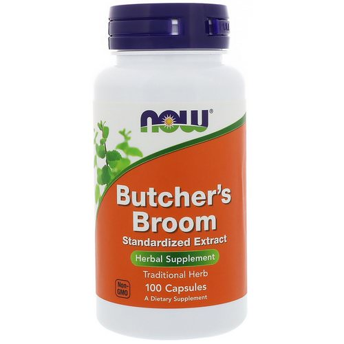 Now Foods, Butcher's Broom, 100 Capsules Review