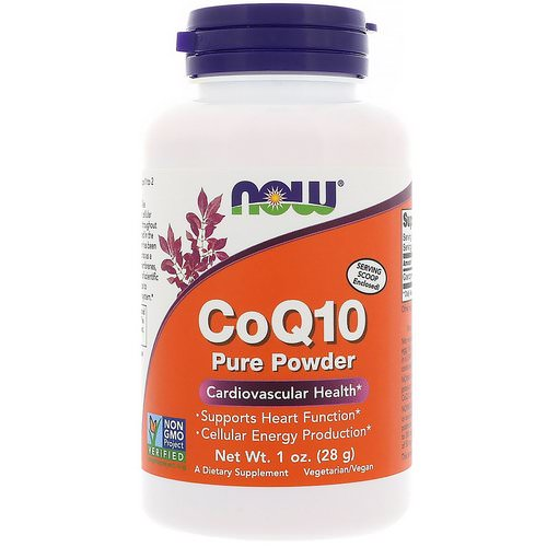 Now Foods, CoQ10, Pure Powder, 1 oz (28 g) Review