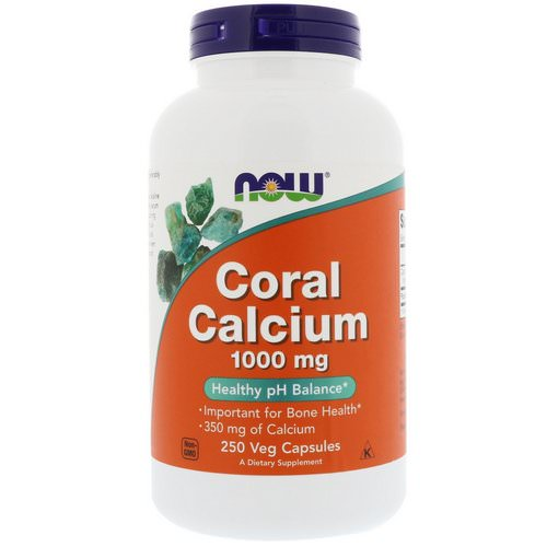 Now Foods, Coral Calcium, 1,000 mg, 250 Veg Capsules Review